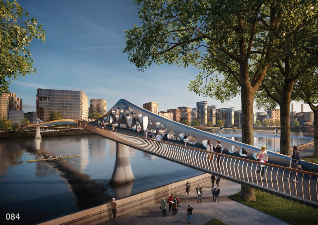 In pictures incredible designs for london s nine elms for Design bridge london