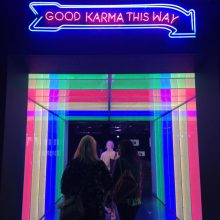 Good Karma this way offices with a sense of humour