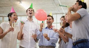 Celebrations to beat the office blues