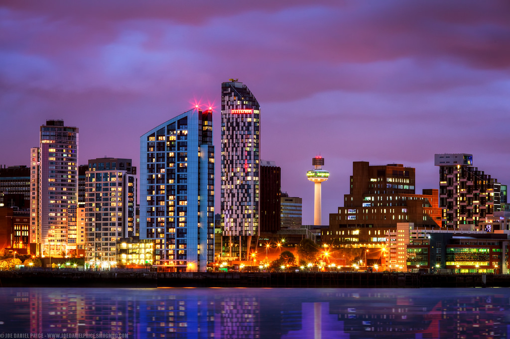 Image result for liverpool town skyline