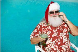 Santa to beat the office blues