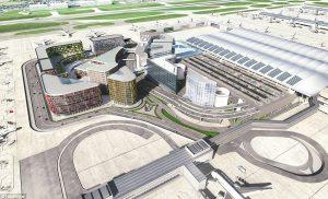 Central terminal at Heathrow