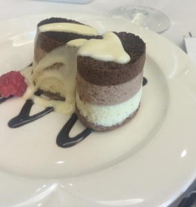 Dessert at the West London Property Lunch