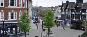 Rotheram Town Centre