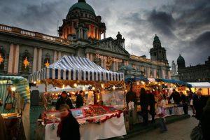 Belfast Christmas Continental market