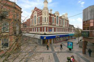 Warrington town centre, Manchester