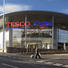 Tesco British supermarket