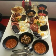 The Super Sausage Cafe, Towcester english breakfast