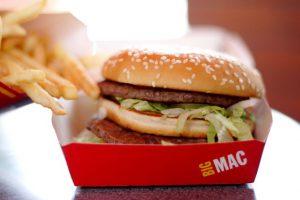 McDonald's big mac fast food
