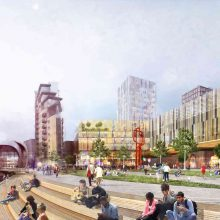 South Bank regeneration Leeds City Centre