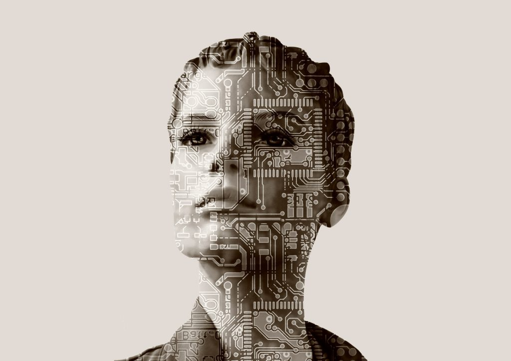 Artificial intelligence woman