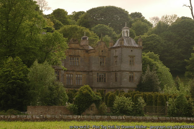 Plas Teg - the most haunted property in Wales