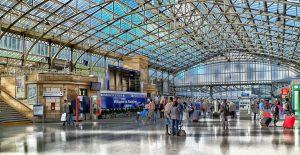 train station in Aberdeen
