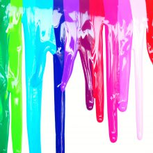 Rainbow paints