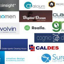 logo compilation of developer companies