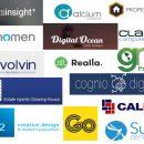 logo compilation of website developers