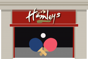 Hamleys shop front