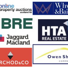 a comp of commercial property logos
