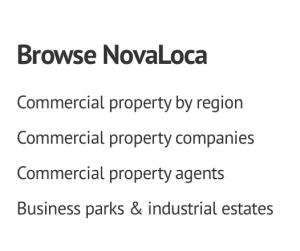Browse NovaLoca options text box