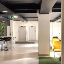 landscape view of office space