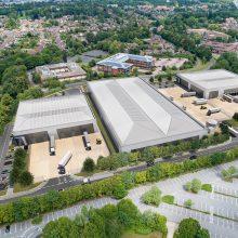 St Modwen Park aerial view