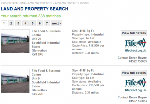 Fife property search