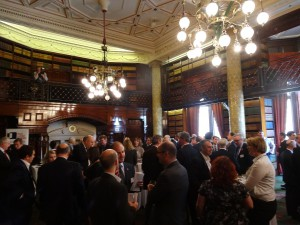 West London Business pre conference networking in Horseguards Hotel