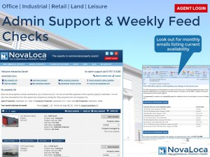 Admin Support & Weekly Feed Checks